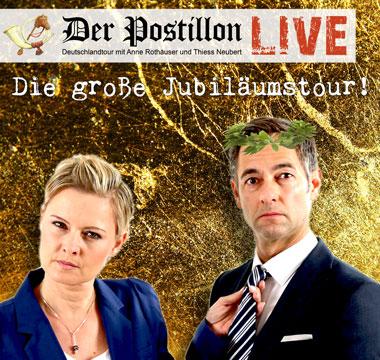 Der Postillon – LIVE